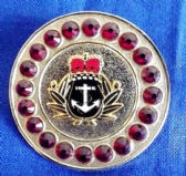 ROYAL NAVY ( RN ) BROACH / BROOCH (GRS)